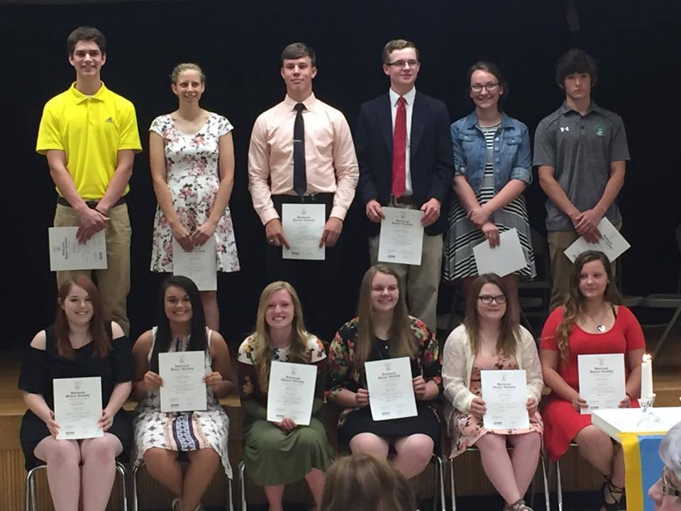 PC NHS Inductees
