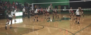 Lady Eagles Go Down in a Tough Loss