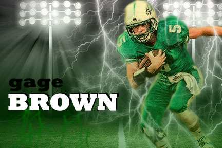 Featured Senior Athlete: Gage Brown