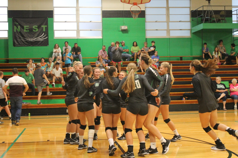 Lady Eagles take part in the Mt. Vernon Tournament