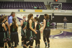 Pierce City Lady Eagles Defeat the Golden City Lady Eagles