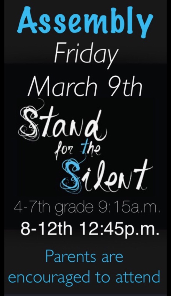 Stand for the Silent Assembly