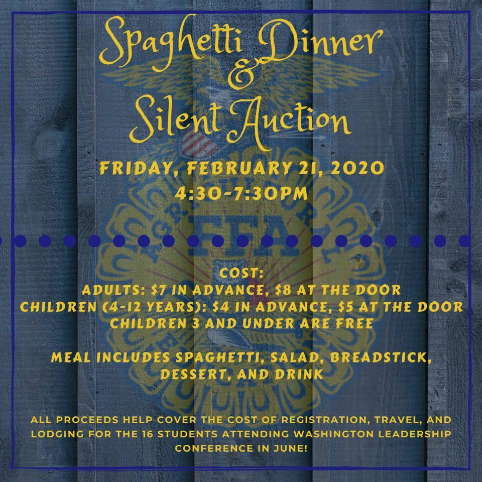 FFA Spaghetti Dinner & Silent Auction