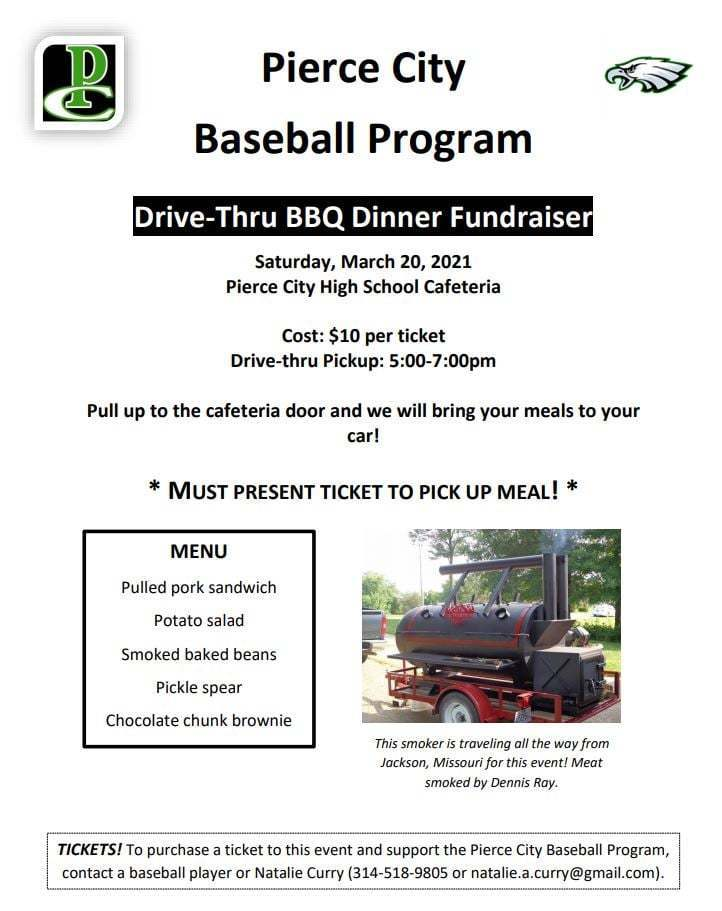 Baseball BBQ March 20th