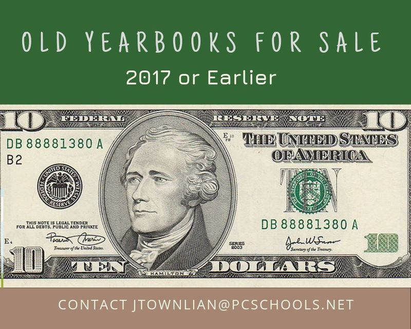 Old Yearbooks for Sale $10